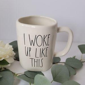 Rae Dunn by Magenta I woke up like this mug